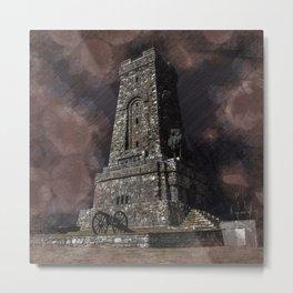 Shipka tower Bulgaria Metal Print