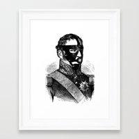 bdsm Framed Art Prints featuring BDSM XVI by DIVIDUS