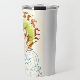 A happy dragon Travel Mug