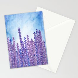 Lavender Field - Mom's favorite Stationery Cards
