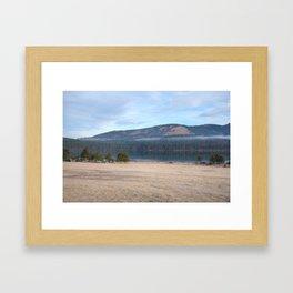 Palsko Lake, Pivka lakes, Slovenia Framed Art Print