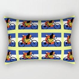 Brews and Mews Rectangular Pillow