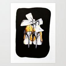 If The Shoe Fits Art Print