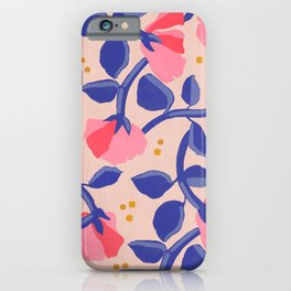 Lisbon Floral iPhone Case