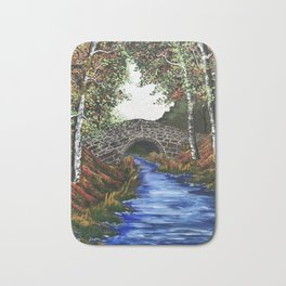 Forest Bridge Bath Mat