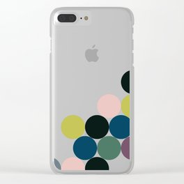 cluster    chill Clear iPhone Case