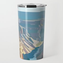 Geometric Grand Canyon National Park, USA Travel Mug