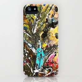 Night of the Living Tree iPhone Case