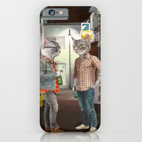 A Cats Night Out iPhone & iPod Case
