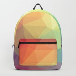 LOWPOLY RAINBOW Backpack