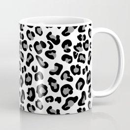 Leopard-Black & White Coffee Mug