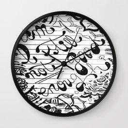 Am I Still Not Good Enough? Wall Clock