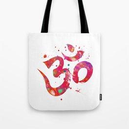 Colorful Om Symbol Tote Bag