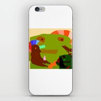 childish gambino iPhone & iPod Skins featuring CHILDISH MOMENT by Duan Riley