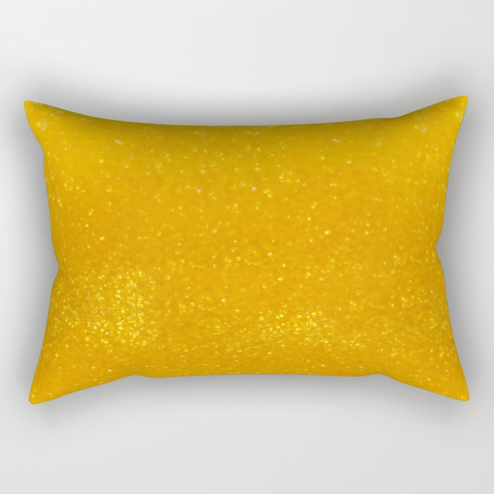 Golden lights Rectangular Pillow