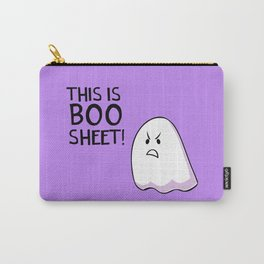 Grumpy Ghost Carry-All Pouch