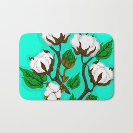 Cotton Pattern I Bath Mat
