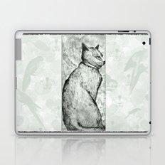 Wise Old Cat Laptop & iPad Skin