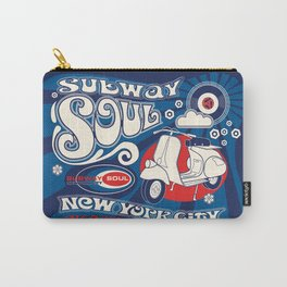 Soul Scoot Subway Soul by Dawn Carrington Carry-All Pouch