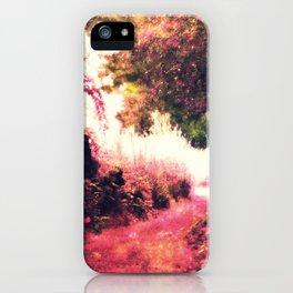 Nostalgic Fantasy Garden iPhone Case