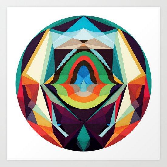 All The Inner Worlds Art Print