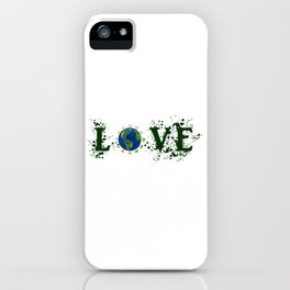 Earth Day Love Mother Earth iPhone Case