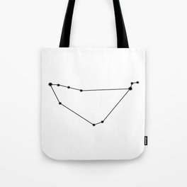Capricorn Astrology Star Sign Minimal Tote Bag