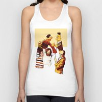 muppets Tank Tops featuring Bert & Ernie Muppets by joshuahillustration