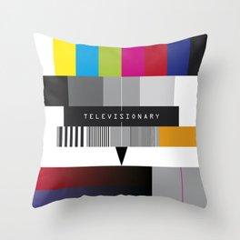 No Signal-1 Throw Pillow