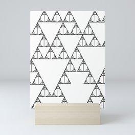 Deathly Hallows Mini Art Print