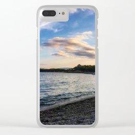 Sardinian beach Clear iPhone Case