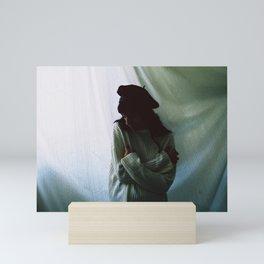 There's nowhere to run away. Mini Art Print