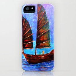 Night Junks iPhone Case