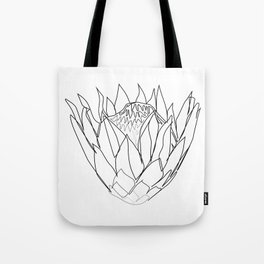 """""""Botanical Collection"""" - Protea Flower Tote Bag"""