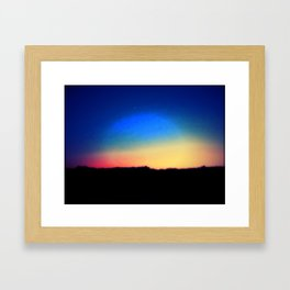 Color Me Rainbow Framed Art Print
