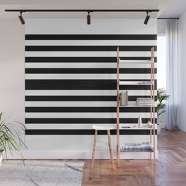 Simply Black White Wall Mural