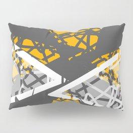 Converge - abstract art by Ann Powell Pillow Sham