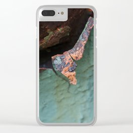 The Pink Side Clear iPhone Case