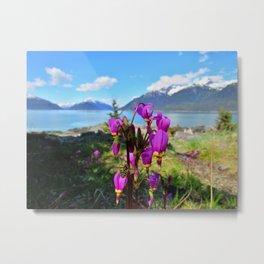 Spring in Alaska Metal Print