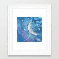 celestial Framed Art Prints featuring Celestial by Geni