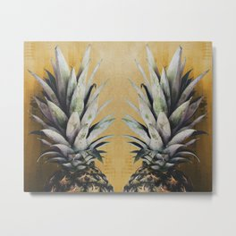 The Pineapple Delight Metal Print