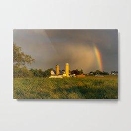 1469 - Rainbow without rain Metal Print