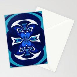 Pacific Northwest Coast Native Medallion Stationery Cards