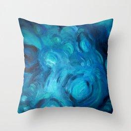 Aqua Throw Pillow