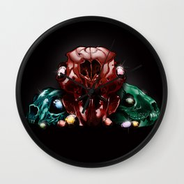 Crystal Creatures Wall Clock