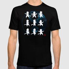 Tai Chi Cat Moves #1 T-shirt