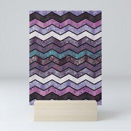 Glitter Waves IV Mini Art Print