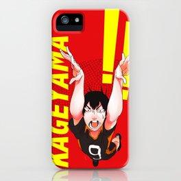 Haikyuu!! Intense Kageyama!! iPhone Case