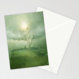Greenery Sunrise Stationery Cards