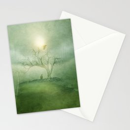Greenery Sunrise Stationery Cards